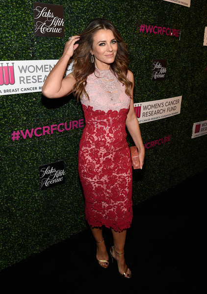 Elizabeth Hurley Lace Dress