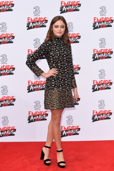 Ella Purnell Embroidered Dress