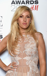 Ellie Goulding looked fabulous with her long layered 'do at the Elle Style Awards.