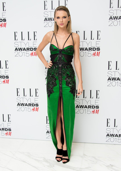Julien Macdonald's Emerald Masterpiece for the Elle Style Awards