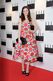 Sophie's colorful Style Awards dress was meant for a lovely spring picnic.