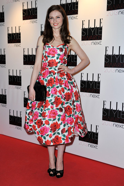 More Pics of Sophie Ellis-Bextor Print Dress (1 of 9) - Print Dress Lookbook - StyleBistro