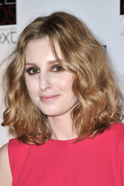 More Pics of Laura Carmichael Medium Curls (1 of 2) - Laura Carmichael Lookbook - StyleBistro