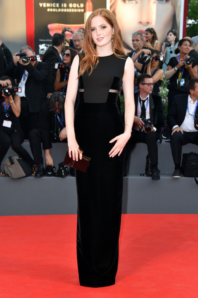 Ellie Bamber Evening Dress