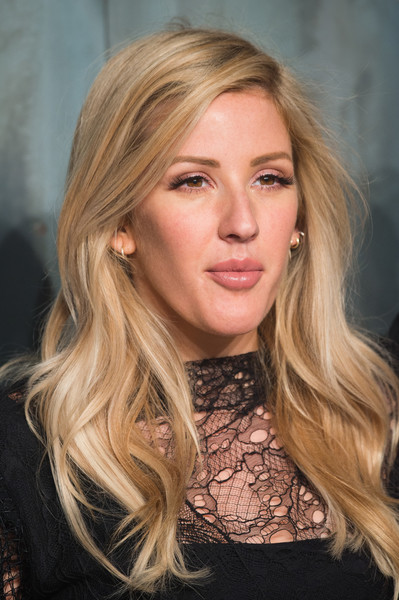 Ellie Goulding Long Wavy Cut [lost in space,omega speedmaster,hair,blond,face,hairstyle,long hair,eyebrow,layered hair,beauty,chin,brown hair,ellie goulding,mission,tate modern,united kingdom,london,nasa,party,event]