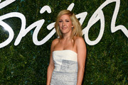 Ellie Goulding Strapless Dress