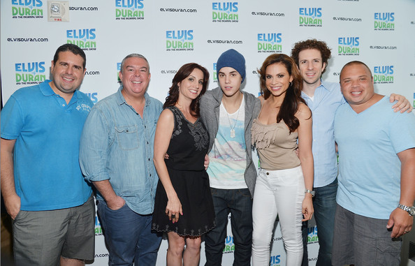 Justin Bieber and Austin Mahone Visit The Elvis Duran Show