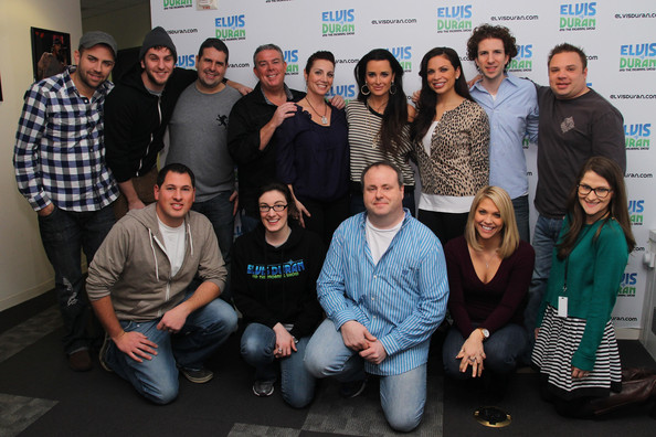 "Kyle Richards Visits ""The Elvis Duran Morning Show"""