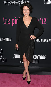 Lisa Edelstein channeled the '20s in her flapper 'do and glitzy LBD.