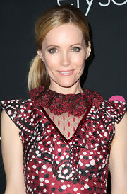 Leslie Mann looked playful and chic in this side-parted pony at the benefit.