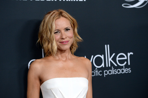 More Pics of Maria Bello Short Wavy Cut (1 of 12) - Short Wavy Cut Lookbook - StyleBistro