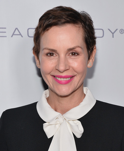 Embeth Davidtz Pixie [hair,hairstyle,eyebrow,lip,chin,beauty,neck,cheek,forehead,smile,6th annual go go gala - red carpet,embeth davidtz,pacific palisades,california,go go gala]