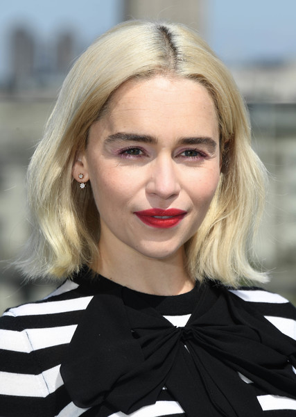 Emilia Clarke Bob [solo: a star wars story - photocall,solo: a star wars story,hair,blond,eyebrow,human hair color,beauty,hairstyle,fashion model,chin,long hair,fashion,emilia clarke,hair,photocall,eyebrow,human hair color,beauty,hairstyle,united kingdom,emilia clarke,solo: a star wars story,hairstyle,actor,daenerys targaryen,2018,fashion]