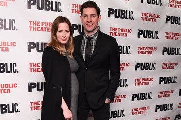 Emily Blunt John Krasinski 'Dry Powder' Opening Night