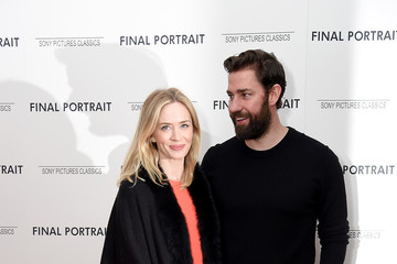 "Emily Blunt John Krasinski ""Final Portrait"" New York Screening"