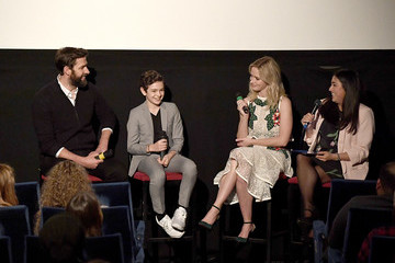 Emily Blunt John Krasinski 'A Quiet Place' Immersive VIP Fan Screening In London