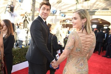 Emily Blunt John Krasinski 23rd Annual Screen Actors Guild Awards - Arrivals