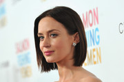 Emily Blunt Wears a Bob Haircut at the Premiere of 'Salmon Fishing in the Yemen'