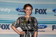 Emily Deschanel Quilted Clutch
