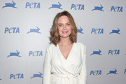 Emily Deschanel Wide Leg Pants