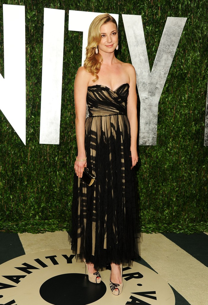 Emily Vancamp Strapless Dress Emily Vancamp Looks