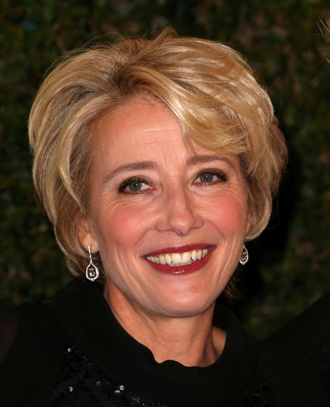 Emma Thompson hairstyles