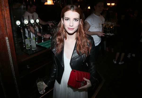 Emma Roberts Quilted Clutch