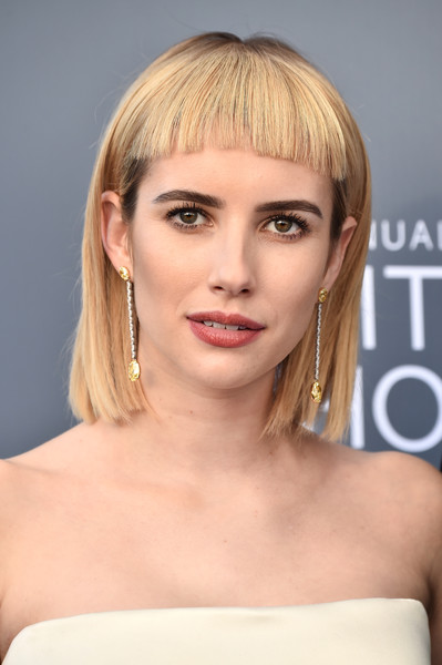 Emma Roberts Short Cut With Bangs