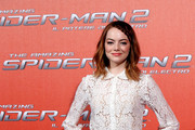 Emma Stone Button Down Shirt