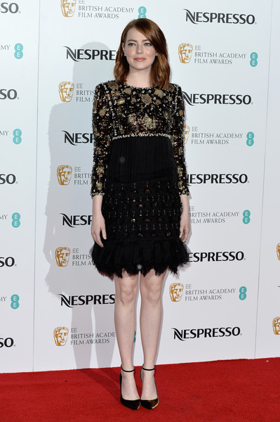 Emma Stone Beaded Dress
