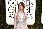 Emma Stone Sequin Dress