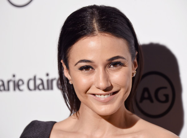 Emmanuelle Chriqui Long Straight Cut