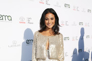 Emmanuelle Chriqui Strappy Sandals