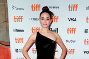 Emmy Rossum One Shoulder Dress