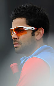 Virat Kohli rocked a futuristic pair of Oakleys at the England and India Nets Session.