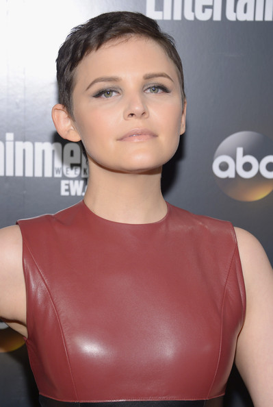 More Pics of Ginnifer Goodwin Leather Dress (1 of 6) - Ginnifer Goodwin Lookbook - StyleBistro