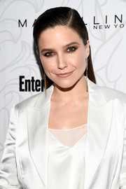 Sophia Bush looked punk-chic with her slicked-down hairstyle at the Entertainment Weekly SAG nominees celebration.