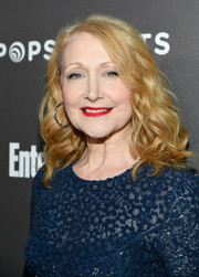 Patricia Clarkson looked glam with her bouncy shoulder-length curls at the Entertainment Weekly SAG nominees party.
