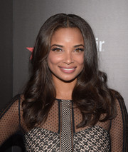 Rochelle Aytes showed off a perfectly styled wavy 'do at the Entertainment Weekly SAG Awards nominee celebration.