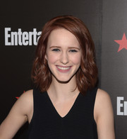 Rachel Brosnahan kept it cute and youthful with this shoulder-length wavy 'do at the Entertainment Weekly SAG Awards nominee celebration.