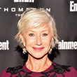 Helen Mirren's Messy Razor Cut