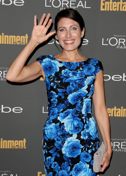 More Pics of Lisa Edelstein Print Dress (1 of 5) - Lisa Edelstein Lookbook - StyleBistro