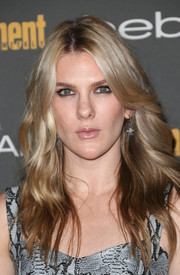 Lily Rabe looked edgy-glam with her long wavy 'do at the Entertainment Weekly pre-Emmy party.