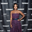 Aja Naomi King at Entertainment Weekly's Toronto Must List Party