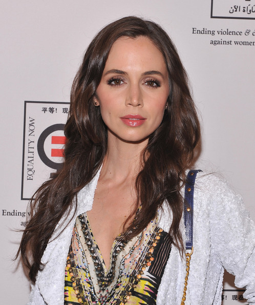 More Pics of Eliza Dushku Long Wavy Cut (1 of 13) - Long Wavy Cut Lookbook - StyleBistro