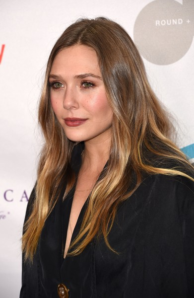 Elizabeth Olsen kept it simple yet sweet with this gently wavy 'do at the Make Equality Reality Gala.
