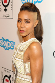 Jada Pinkett Smith looked bold with her undercut ponytail at the Make Equality Reality event.