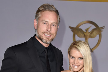 Eric Johnson Jessica Simpson 'The Hunger Games: Mockingjay, Part 1' LA Premiere — Part 3