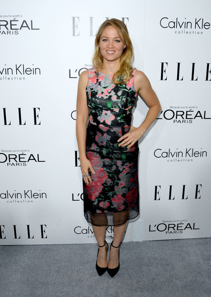 Erika Christensen Print Dress