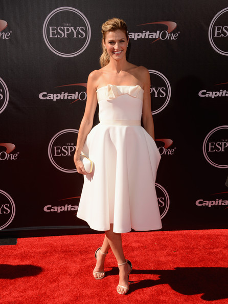 Erin Andrews Strapless Dress